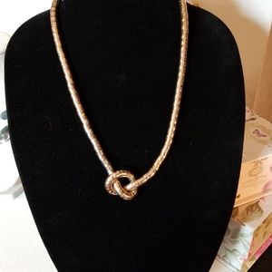 Jewelry - Gold tone snake Chain Necklace